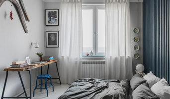 Однокомнатная квартира с просторной гардеробной в стиле Рустик