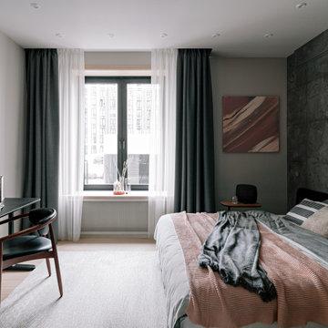 Однокомнатная квартира в Москве, 28 м²