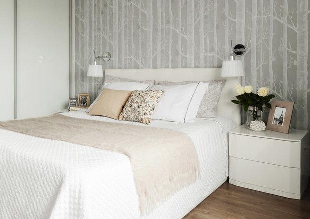 Современный Спальня by Мастерская дизайна интерьера Анны Першаковой