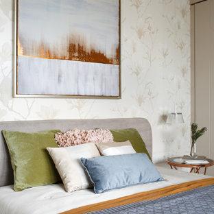 Пример оригинального дизайна: спальня в скандинавском стиле
