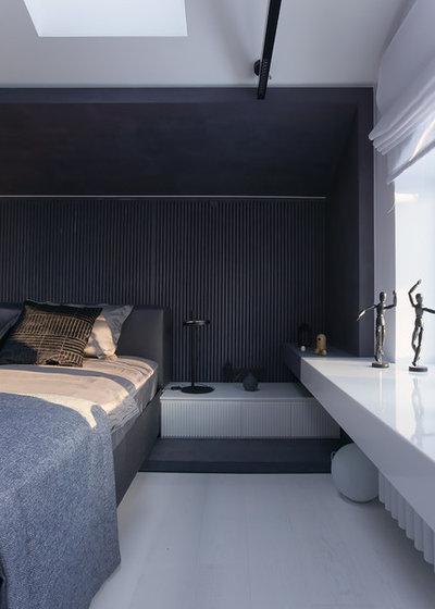 Современный Спальня by VYAZMINOVA & SELVINSKY ARCHITECTS