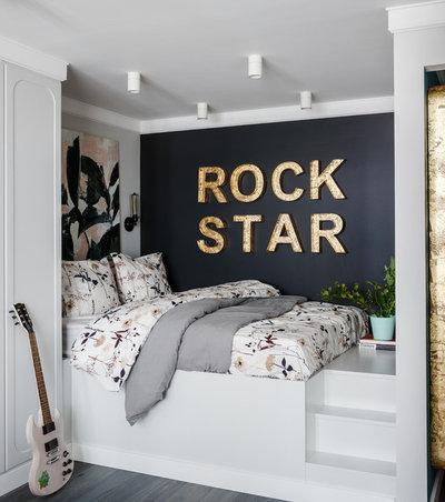 Современный Спальня by Salmon Lair