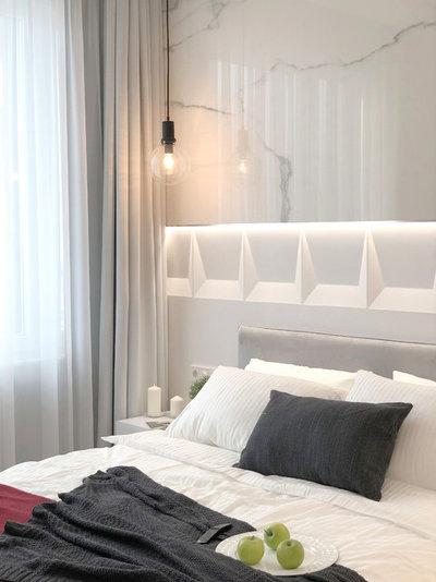 Современный Спальня by ID Studio