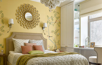 Chic Feature Walls Make a Wow Statement in These Bedrooms