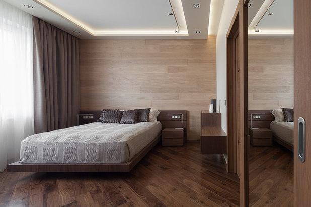 Современный Спальня by Flatsdesign / Евгения Матвеенко