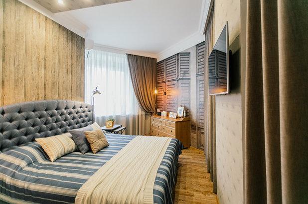 Средиземноморский Спальня by EgoDesign
