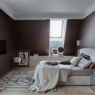 На фото: спальня в современном стиле