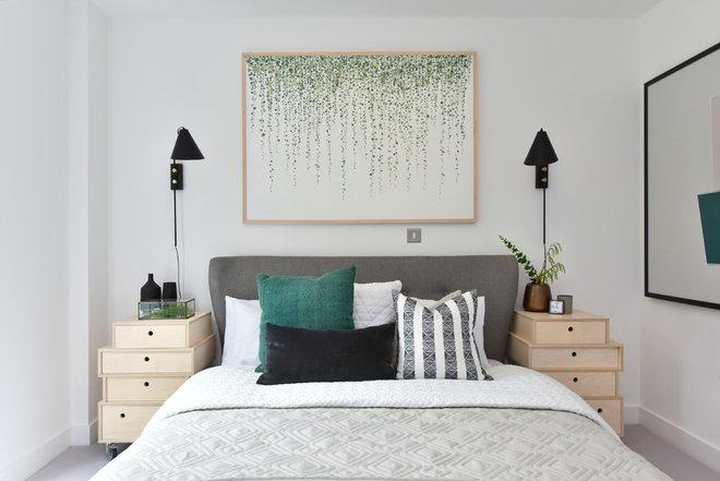 Contemporary Bedroom by Petko Slavov Photography