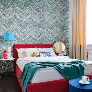 Ремонт своей спальни 9 м2 стоимостью 184355р.