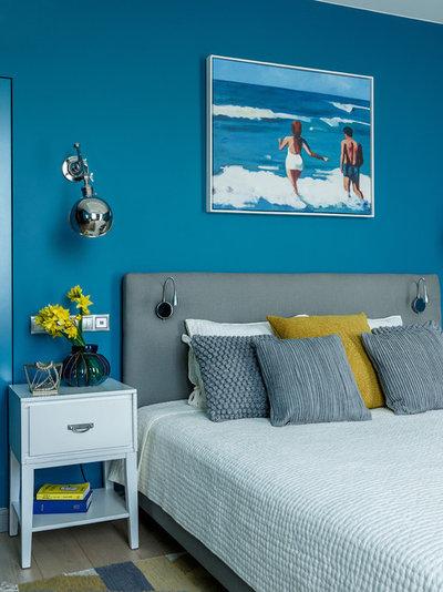 Морской Спальня by Студия Enjoy Home