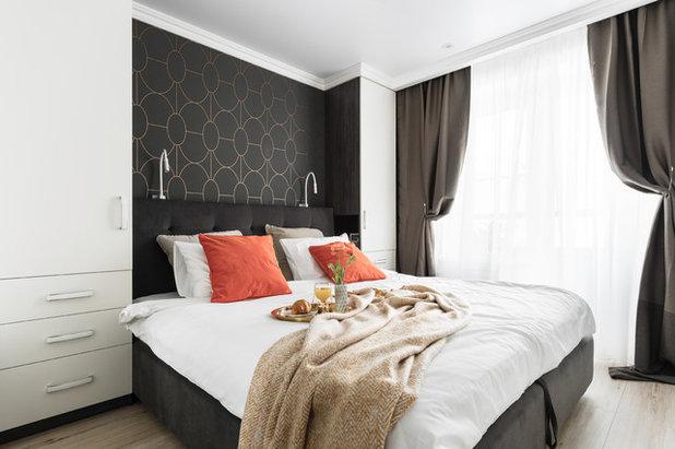 Современный Спальня by SWEET HOME INTERIORS