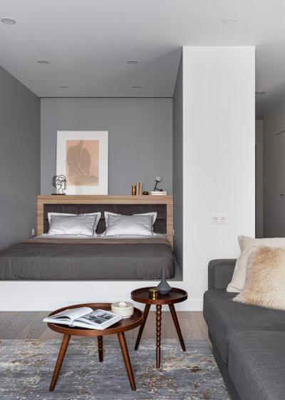 Современный Спальня by Elements studio