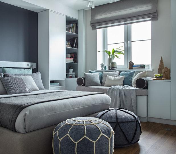 Scandinavian Bedroom by Design3 | Дизайн в кубе