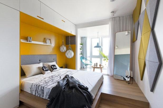 Modern Schlafzimmer by Ze Workroom Studio