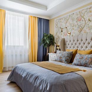 Идея дизайна: спальня в стиле современная классика