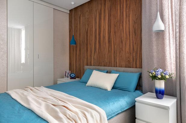 Современный Спальня by Дарья Ельникова