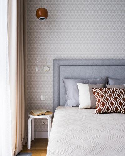 Скандинавский Спальня by MO interior design