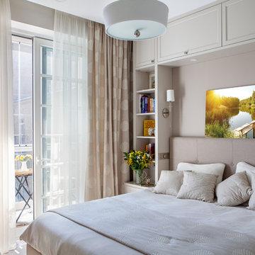 Спальня на Ленинском проспекте