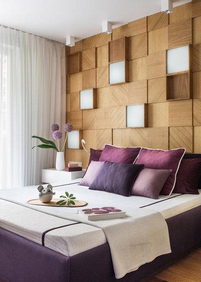 Современный Спальня by Pugachevich Studio