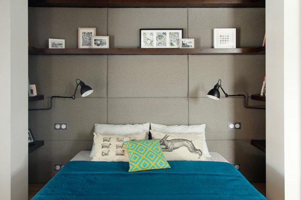 Современный Спальня by Ze|Workroom Studio