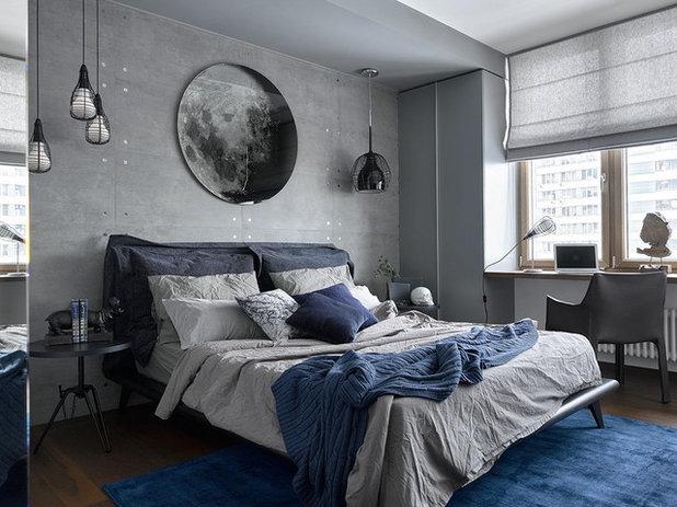 Современный Спальня by iPozdnyakov Studio