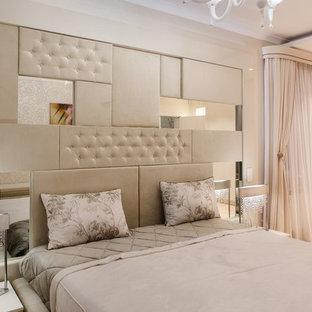Выдающиеся фото от архитекторов и дизайнеров интерьера: спальня в современном стиле