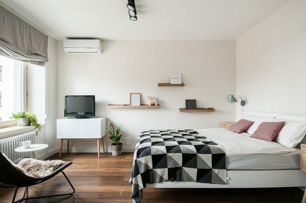 Scandinavian Bedroom by Ольга Горбунова