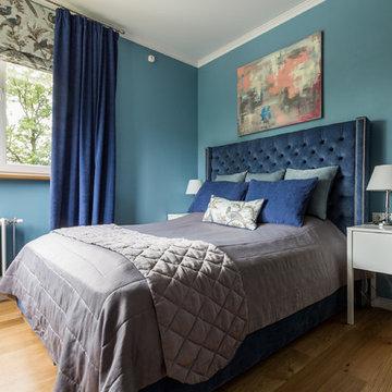 В гостях: Квартира для девушки в голубом