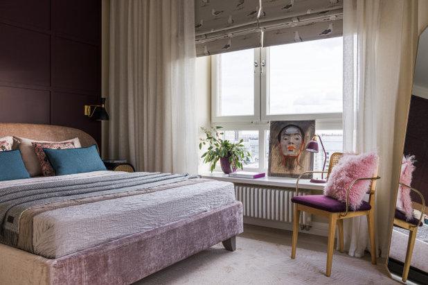 Современный Спальня by Студия Enjoy Home