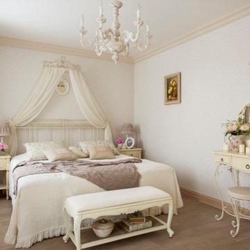 French Country Спальня