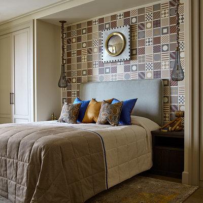 Современный Спальня by Anna Pavlovskaya Interiors