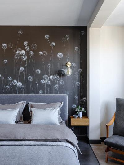 Современный Спальня by Студия Татьяны Архиповой
