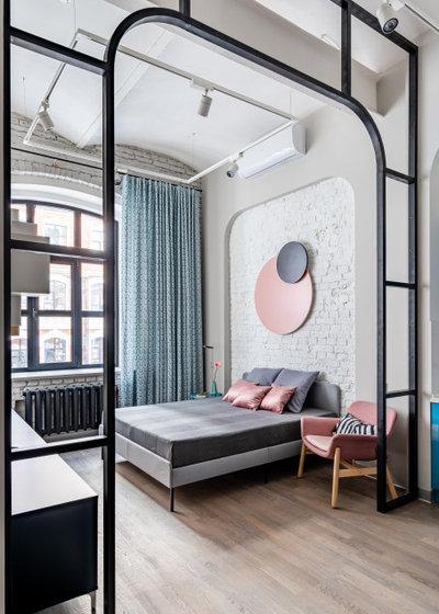 Современный Спальня by Marina Grigoryan