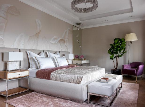 Современный Спальня by Дизайн Бюро Рублевой Марии