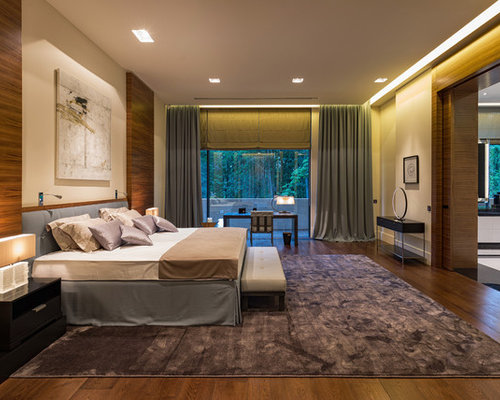 Contemporary bedroom design ideas renovations photos - Appartement duplex winder gibson architecte ...