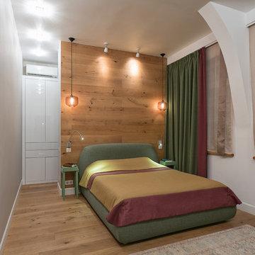Замечательная двухуровневая квартира с фантастическим детским этажом