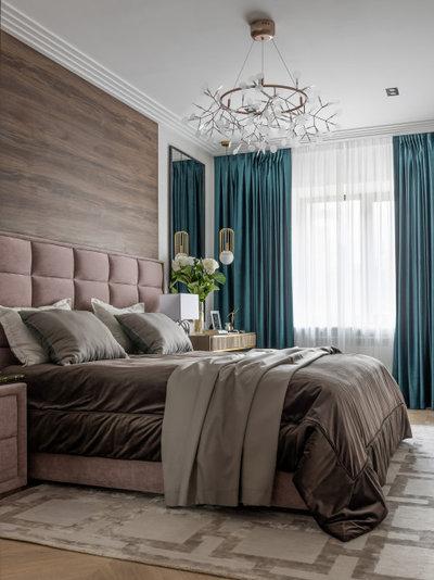 Современный Спальня by CV HOME