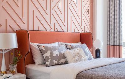 Просто фото: 22 спальни с асимметричными светильниками