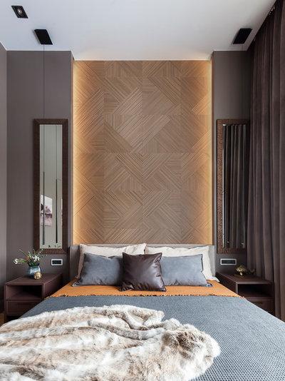 Современный Спальня by OH, BOY! Интерьеры с современным характером