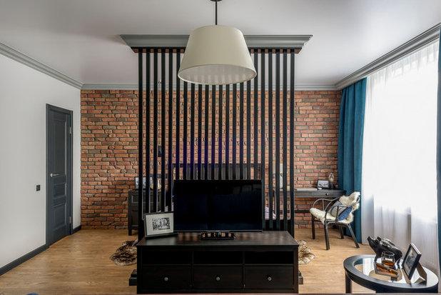 Лофт Спальня by TrioDesign. Уютные интерьеры