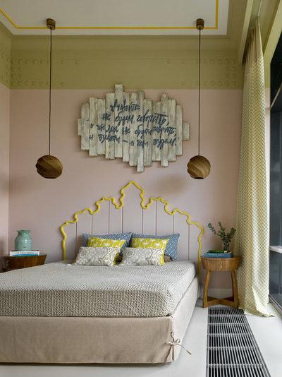 Современный Спальня by Quatrobase Studio
