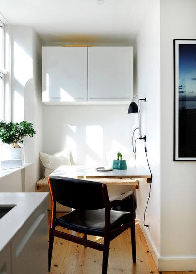 Skandinavisch Esszimmer by Boligcious