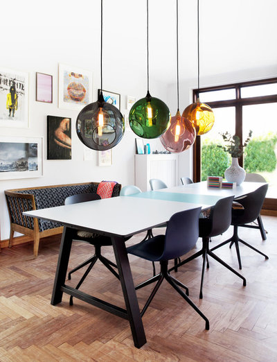 Contemporary Dining Room by Unoliving