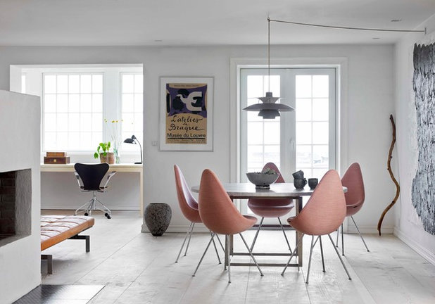 Scandinavian Dining Room by KML Design