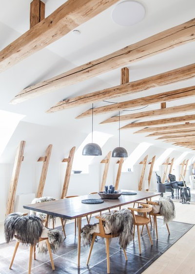 Scandinave Salle à Manger by Artcoustic  Loudspeakers