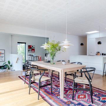 Funkis villa med nedsænket stue