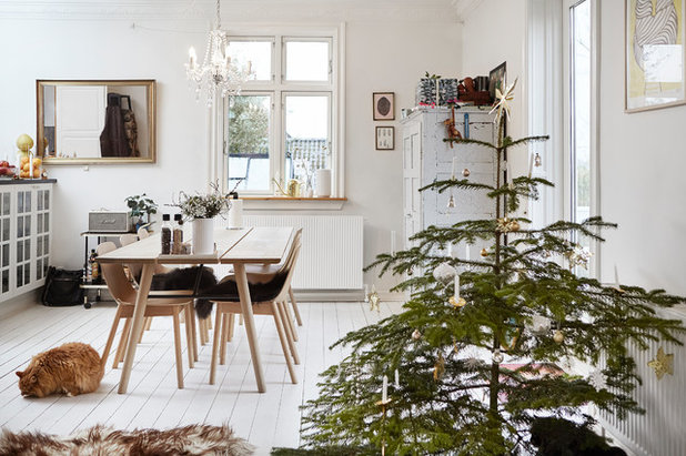 Scandinavian Dining Room by Mia Mortensen Photography