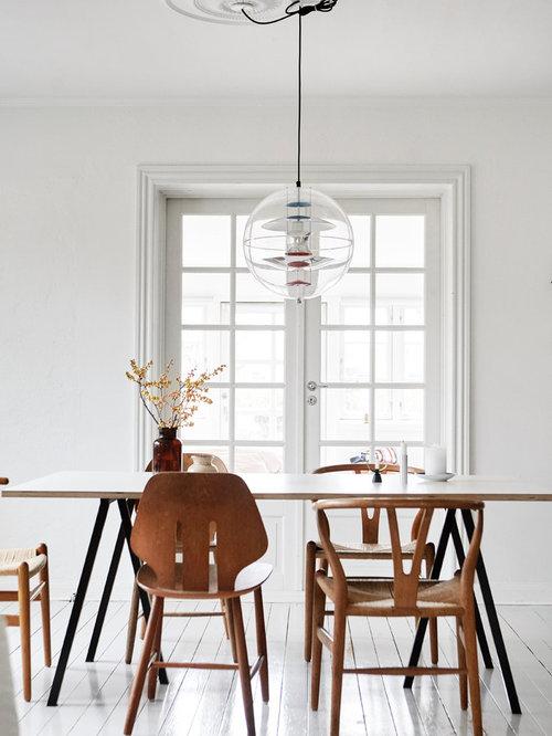salle 224 manger scandinave de taille moyenne photos et