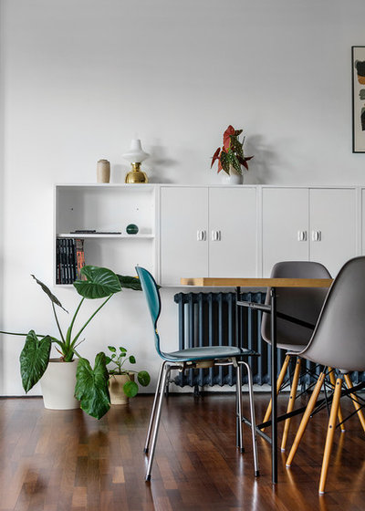 Scandinavian Dining Room by A little story