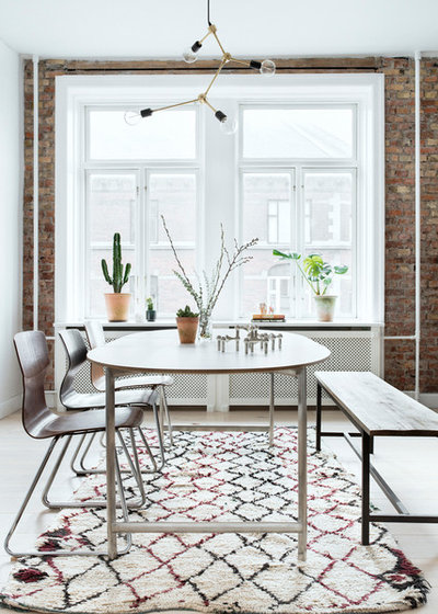 Scandinavian Dining Room by Wise Interior